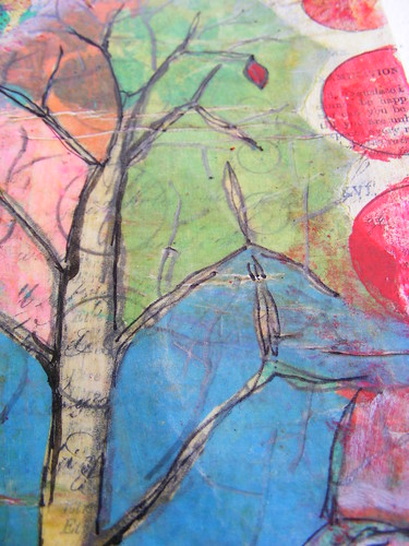 Sketchbook - Tree Close up