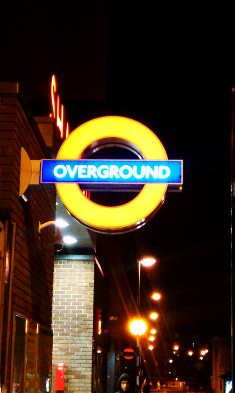 "I had no idea there was a London Overground until now. In NYC those were called ""elevated lines"" or the El."