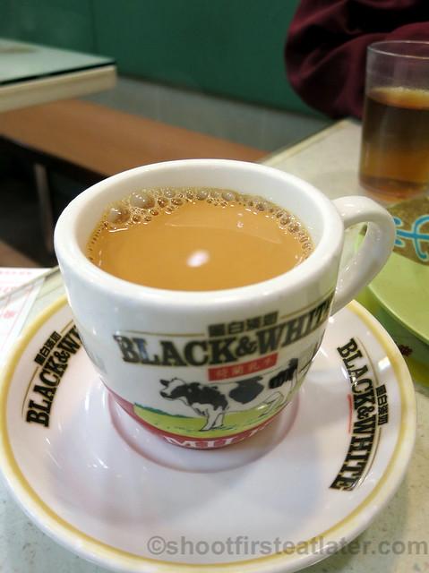 nai cha or milk tea
