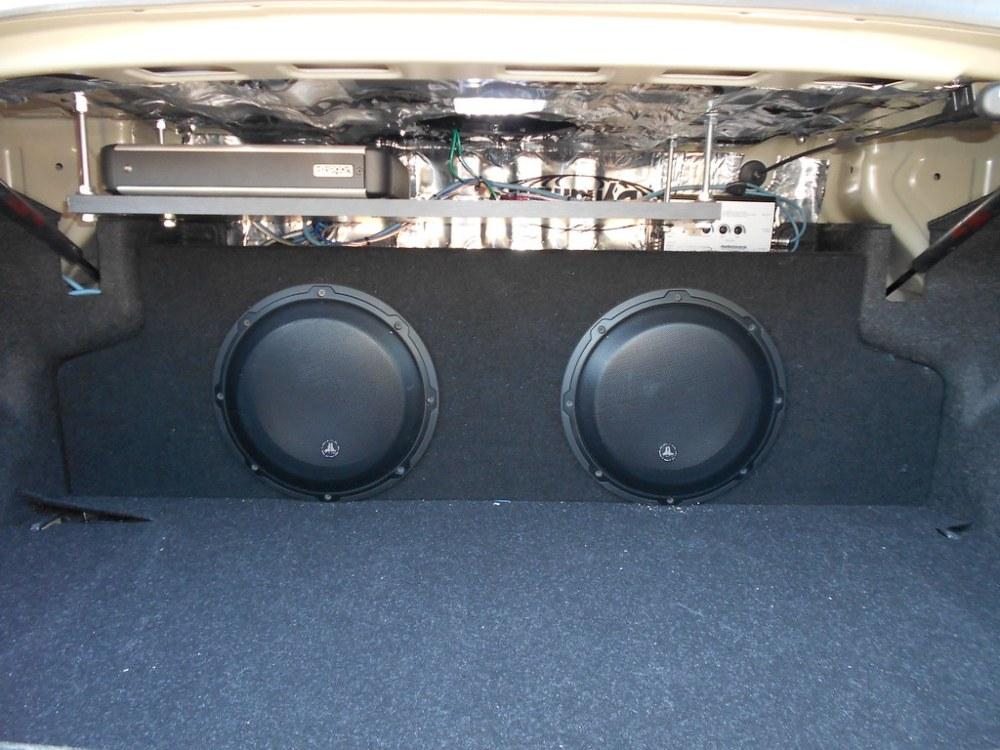 medium resolution of jl bass knob and grills zenclosure box dual 10 audiocontrol lc2i loc custom amp rack jl 4 gauge amp kit jl 16 guage speaker wires jl rca cables