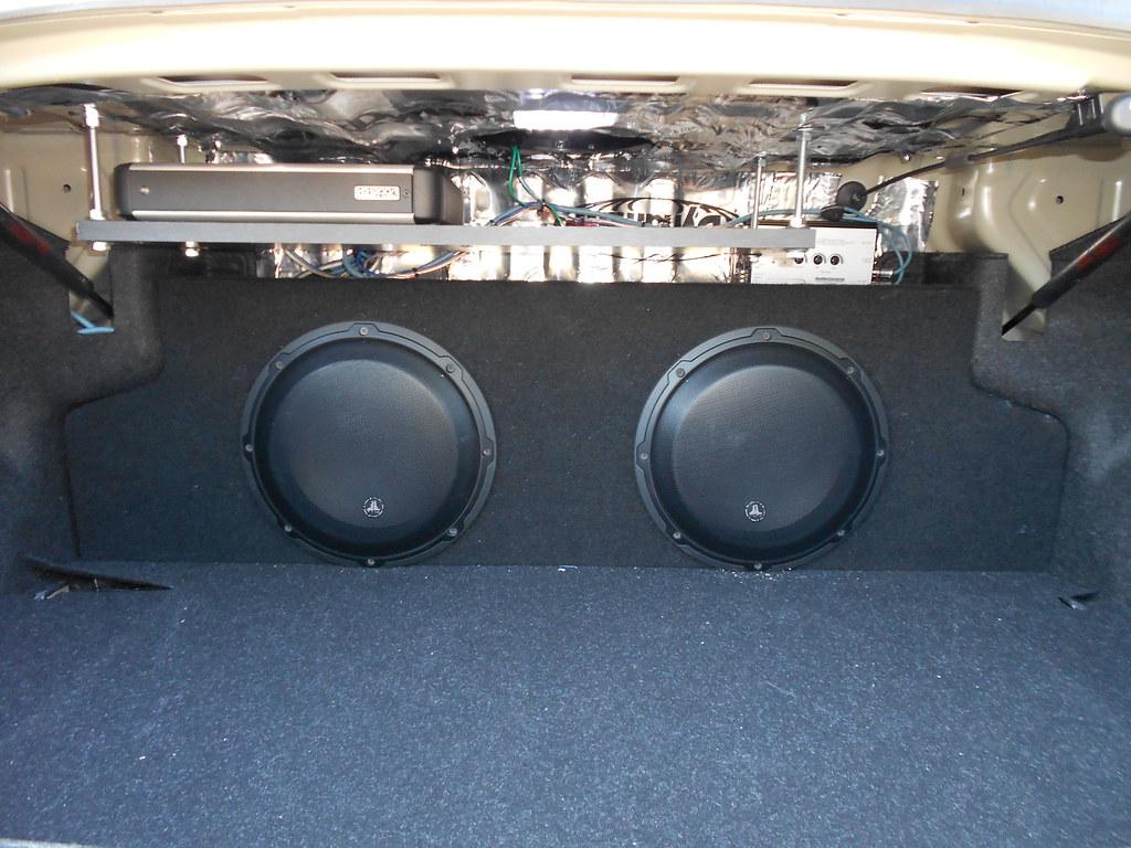 hight resolution of jl bass knob and grills zenclosure box dual 10 audiocontrol lc2i loc custom amp rack jl 4 gauge amp kit jl 16 guage speaker wires jl rca cables
