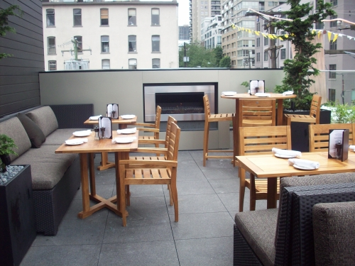 The Keg Yaletown Rooftop Patio