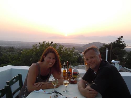 dinner at Oromedon in Zia