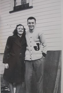 Dad and Aunt Alma (?)