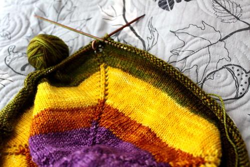 lightweight blobular knitting