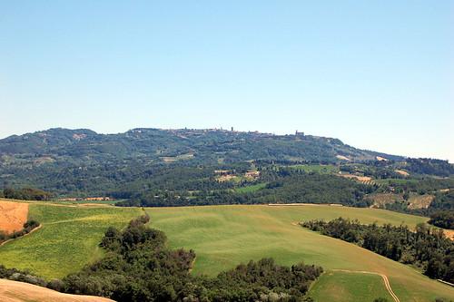 panorama di Volterra 3