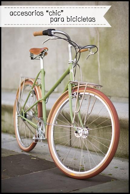 accesorios chic para bicicletas