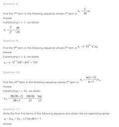 NCERT Solutions for Class 11th Maths Chapter 9 Sequences and Series - CBSE  Rankers [ 1032 x 823 Pixel ]