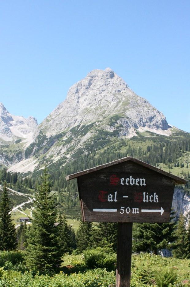 Seeben Tal-Blick