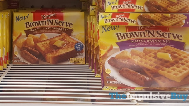 Banquet Brown 'N Serve French Toast Breakfast and Waffle Breakfast