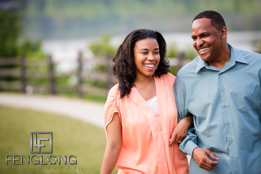 Shelley & CJ's Engagement Session | Heritage Green Park | Atlanta Wedding Photographer