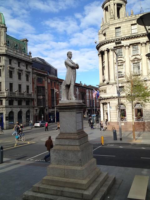 William Smith O'Brien statue, by Thomas Farrell