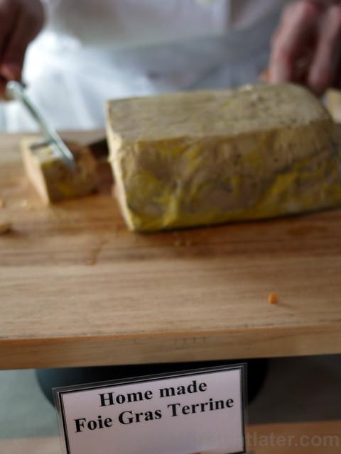 home made foie gras terrine