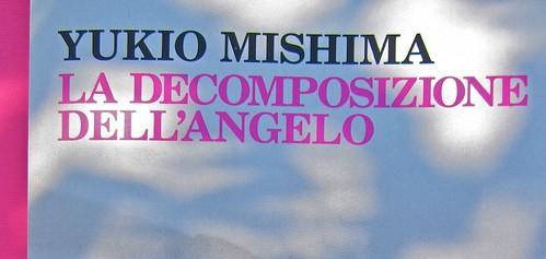 Yukio Mishima, La decomposizione dell'angelo. Feltrinelli 2012. Art director: Cristiano Guerri. In cop.: ©Araki. Copertina (part.), 9