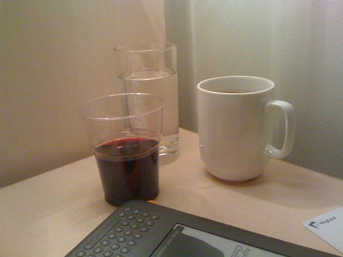 kindle water coffee red wine