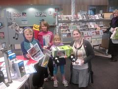 Kids at Upper Riccarton Library