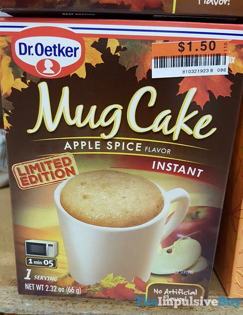 Limited Edition Dr. Oetker Apple Spice Mug Cake