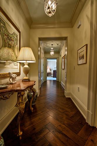 St. Regis Atlanta Residence 1820 Hallway, Designed by Patricia McLean Interiors
