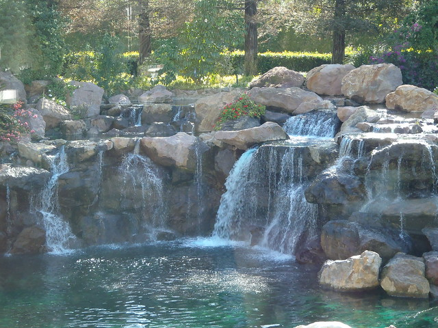 Waterfall at the Four Seasons Westlake Village
