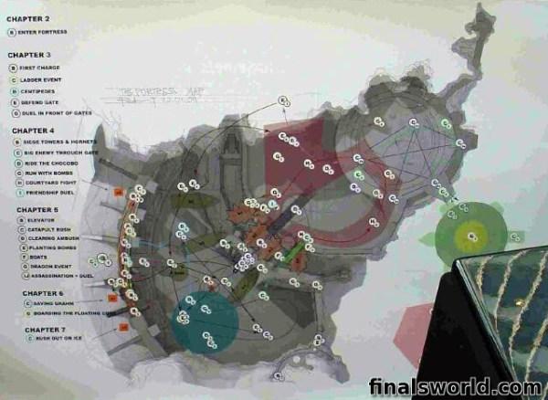 Mapa Fortress