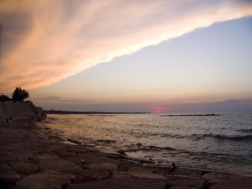 Unexpected sunset - Quando Madre Natura ti sorprende by [Piccola_iena]