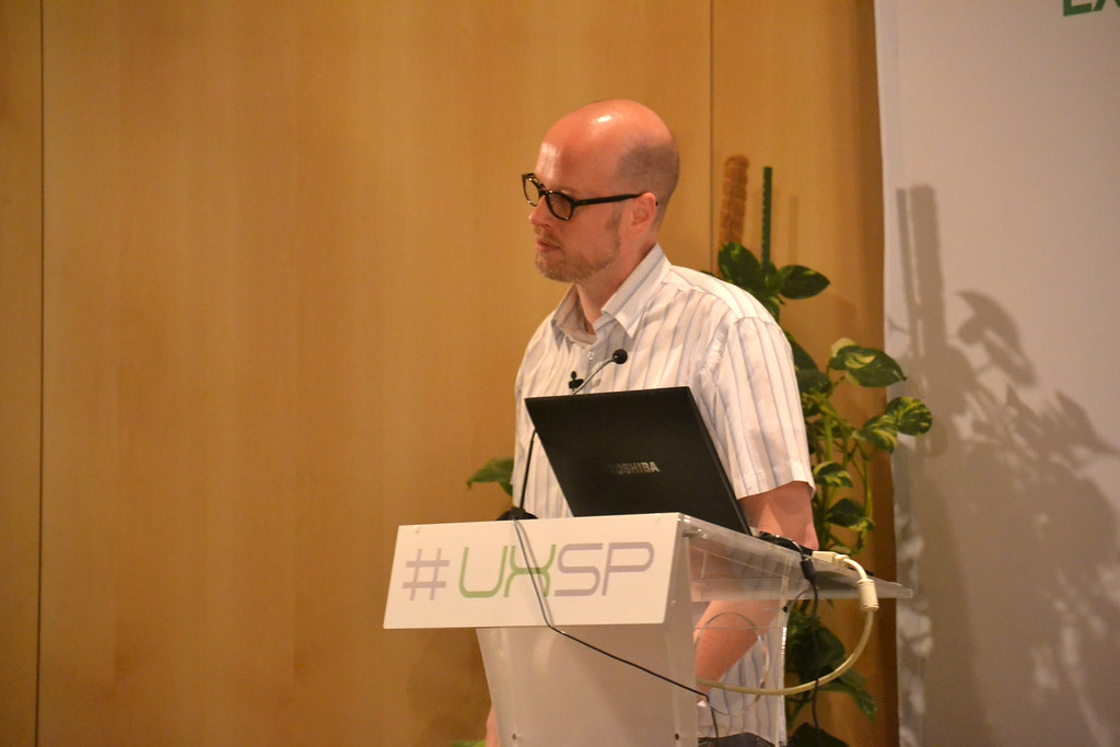 Alberto Knapp en el UxSpain