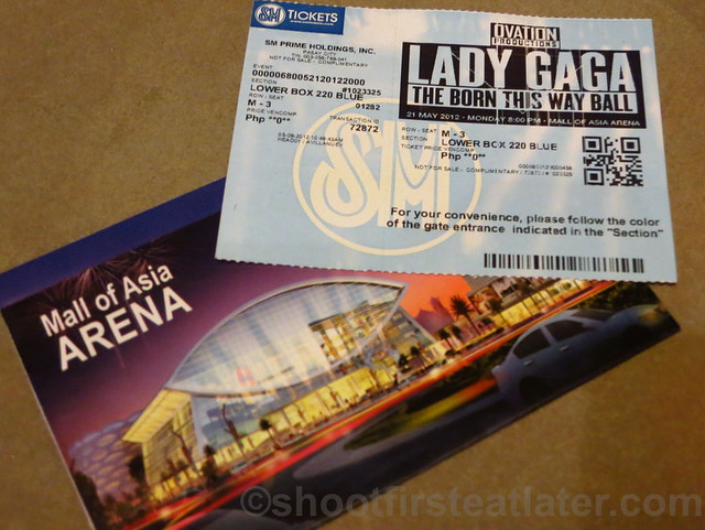 Lady Gaga at the SM Mall of Asia Arena-008