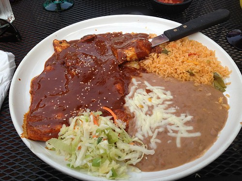 Chicken Mole Acapulco