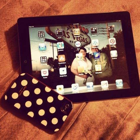 My iPad and my iPhone