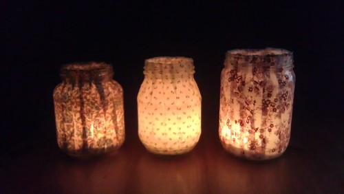 illuminated votives