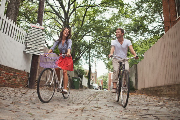001_karen seifert photography brooklyn new york city richmond virginia engagement wedding bride groom couple love downtown bikes picnic suit dress tattoos