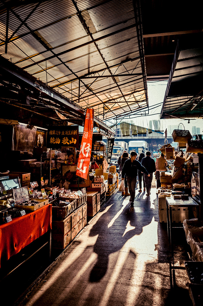 Tsukiji Shadow Shoppers