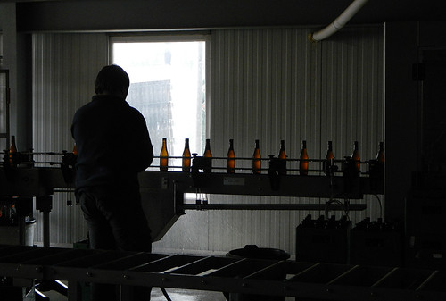 bottling line problems in the brewery