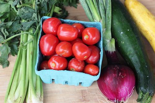Summer Harvest Frittata - Gluten-free + Dairy-free