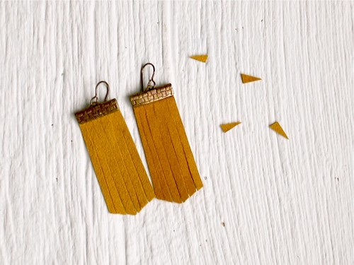 DIY Fringe Earrings8