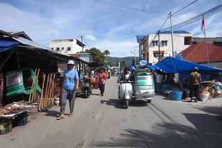 Market in Balige