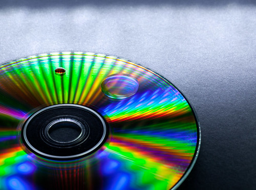 Compact Disks provide great opportunities with light and colour