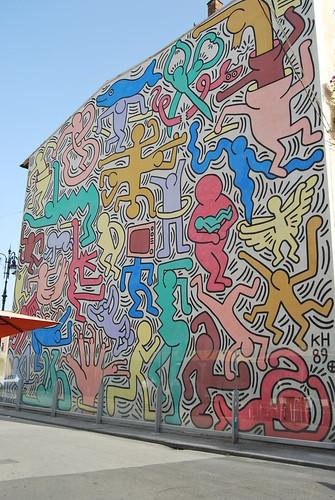 Murale Keith Haring
