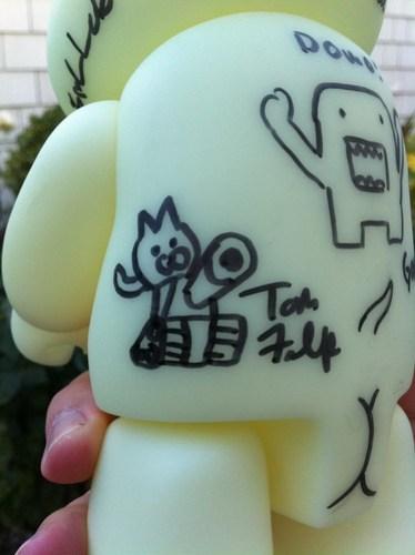 SDCC 2012 Autographed Vinyl Toy