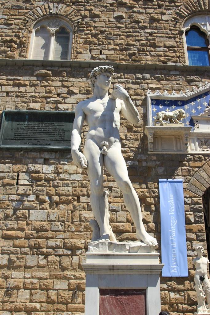Fake David - Florence, Italy