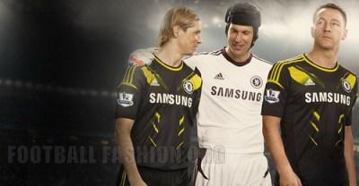 Chelsea FC adidas 2012/13 Third Football Kit / Soccer Jersey