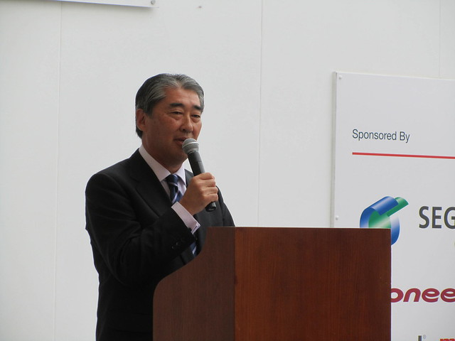 Hiroshi Hattori (Vice President of the Japanese Chamber of Commerce & Industry in the UK)