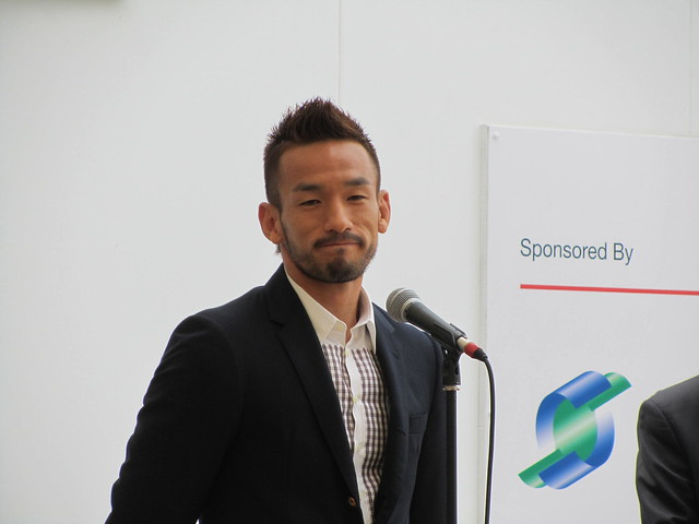 Hidetoshi Nakata (Representative director of Take Action Foundation; Former national football player