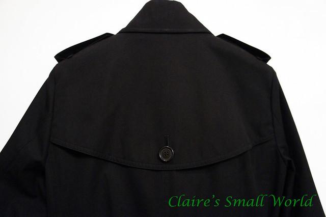 Claire's small world: [開箱] Burberry Gabardine經典款風衣