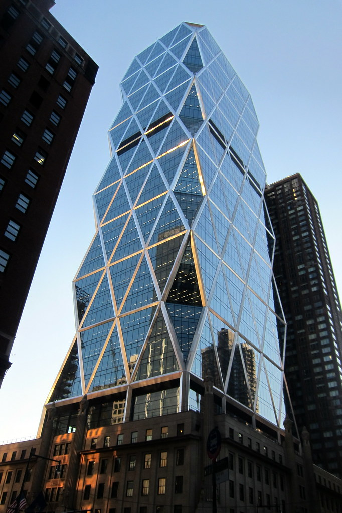 NYC  Midtown Hearst Magazine Tower  The Hearst Tower