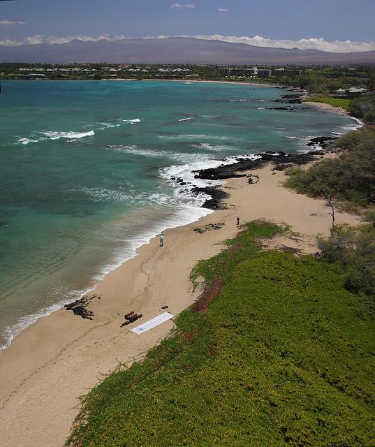 WWKB Anaehoomalu Bay Vertical Panorama