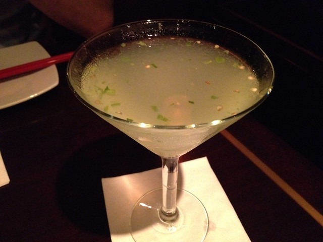 Dragonfire martini Dragonfly