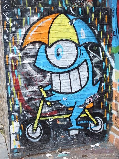 Pez Graffiti, Shoreditch, London