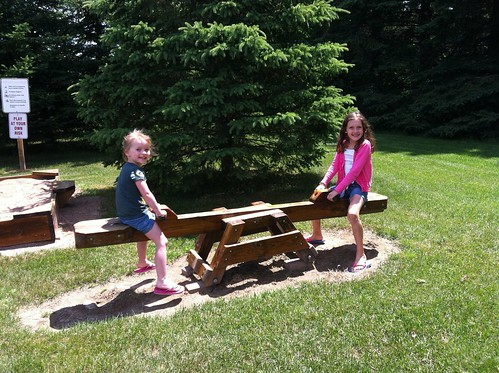 Teeter Totter with Jana