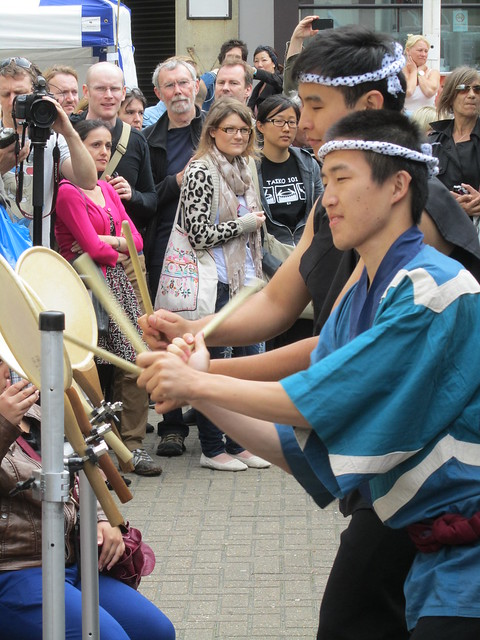 Stanford Taiko at the Brighton Japan Festival 2012